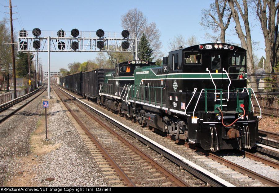 NYA 159 leads RS40